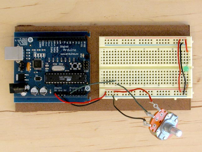 hook up potentiometer arduino The knob sketch this example shows you how you can easily use a potentiometer to move your how to control your servo with the arduino which lights up red.